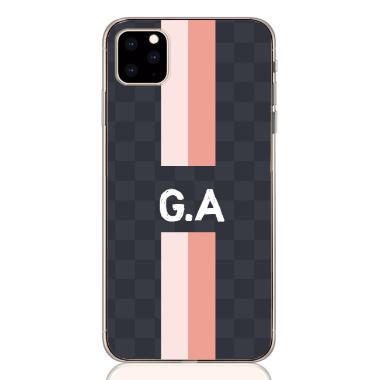 gram pink white letter
