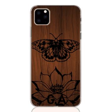butterfly wood letter low