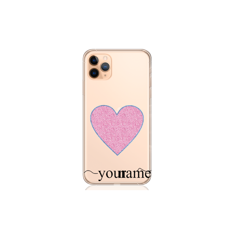 cuore glitter name low