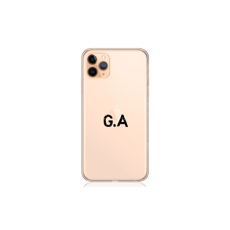 Camouflage grey letter for iphone x/xs
