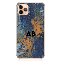 abstract camouflage orange letter