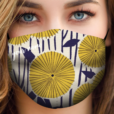 be mask texture yellow