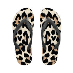 flip flop summer classic animaliers with name