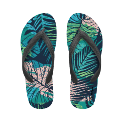 flip flop texture jungle with name