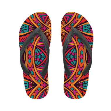 flip flop ethnic with name
