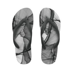 flip flop abstract grey with name