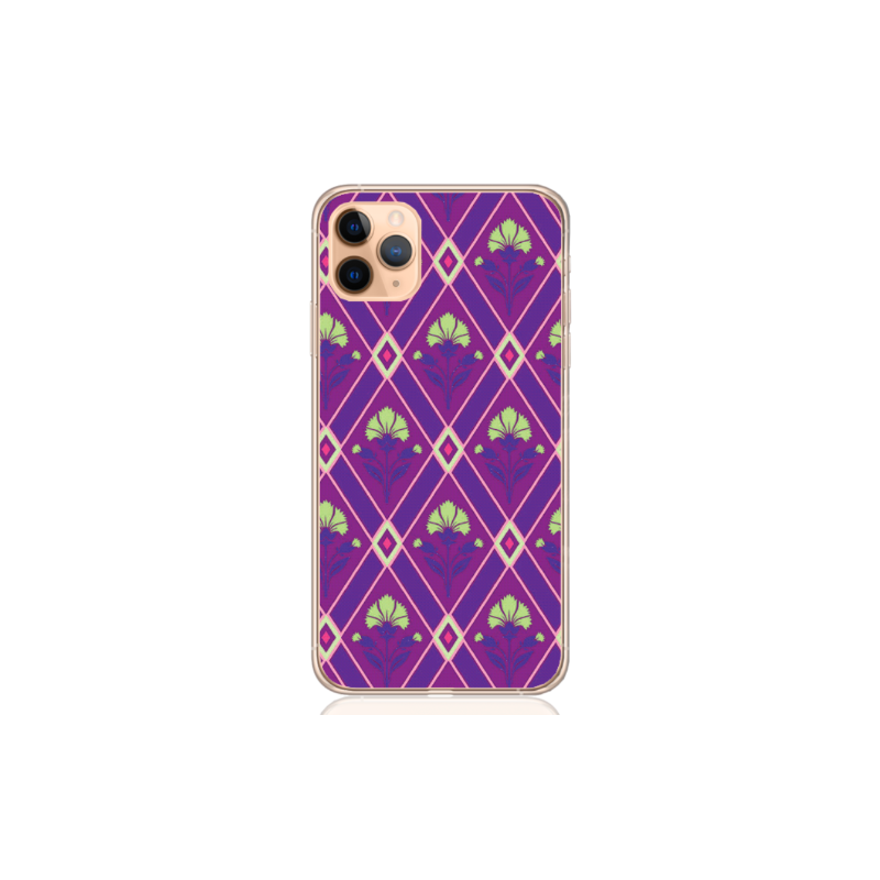 flower purple crest