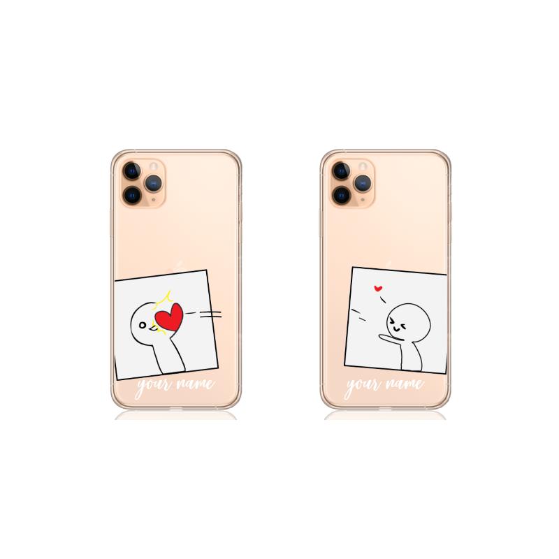 simple heart couple