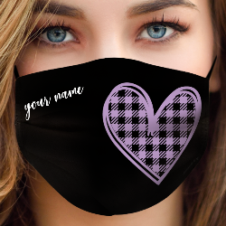 be mask love violet