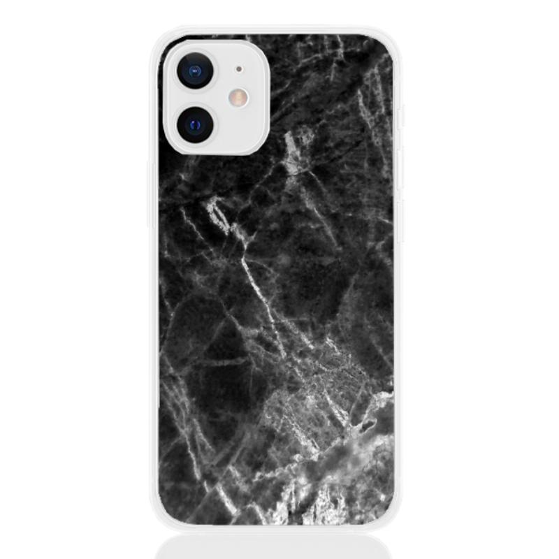 marble black white line for apple