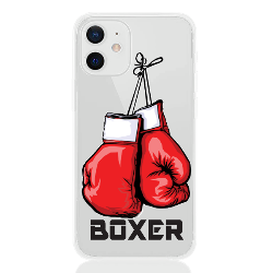 BOXER letter low for apple
