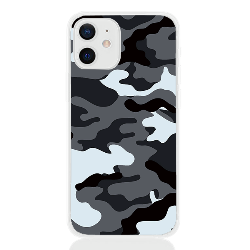 Camouflage grey letter for apple