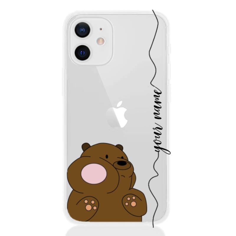 crashed little bear line for apple