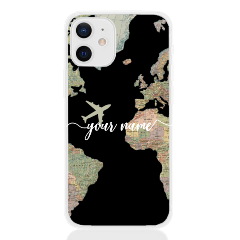 soft touch mappa white name for apple