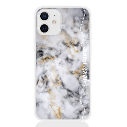 marble white gold line for apple