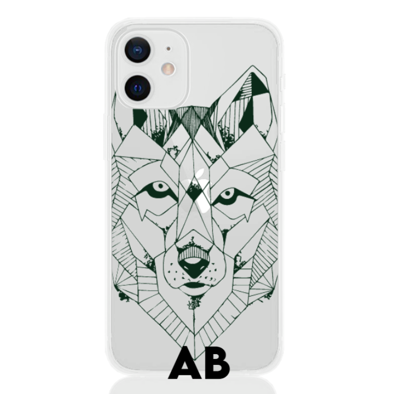 wolf green letter low for apple