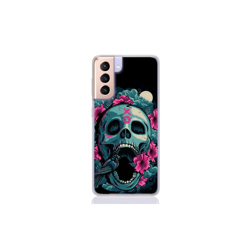 mexican skull flower for samsung