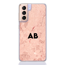 marble pink letter