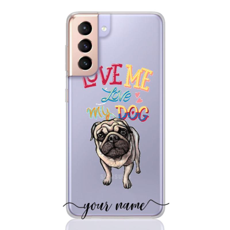 lovemelovemydog three name low for samsung