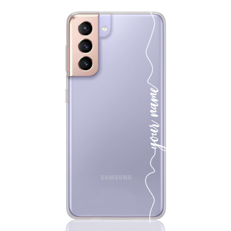simple white line for samsung