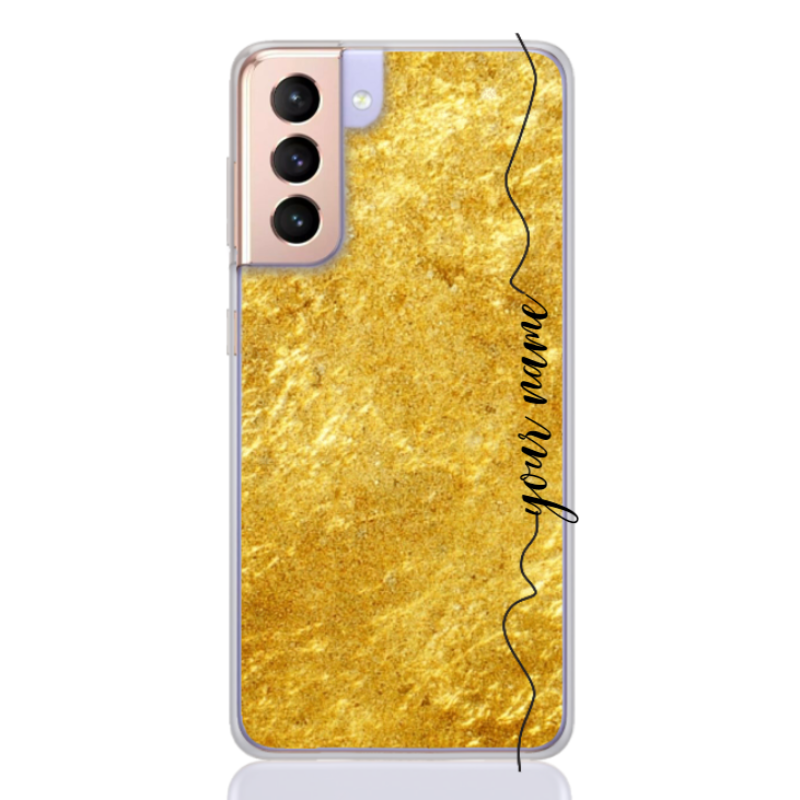 marble gold line for samsung