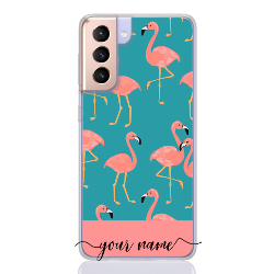 orange flamingo name low for samsung