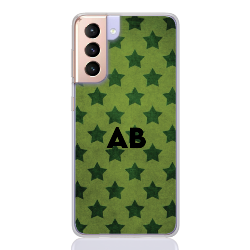 star camouflage green letter for samsung