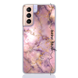 marble rose gold line