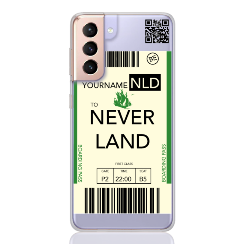 ticket neverland for samsung