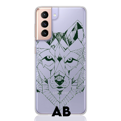 wolf green letter low for samsung