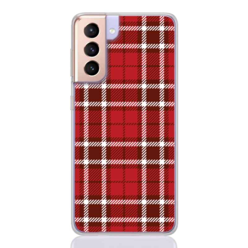 classic red tartan for samsung