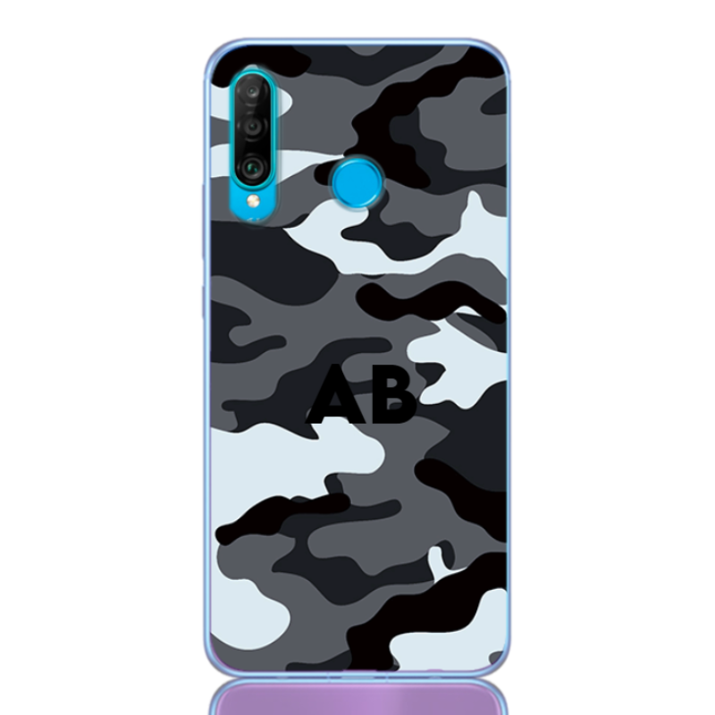 Camouflage grey letter for huawei