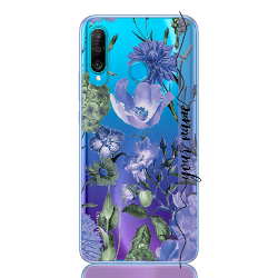 romantic flower blu line for huawei