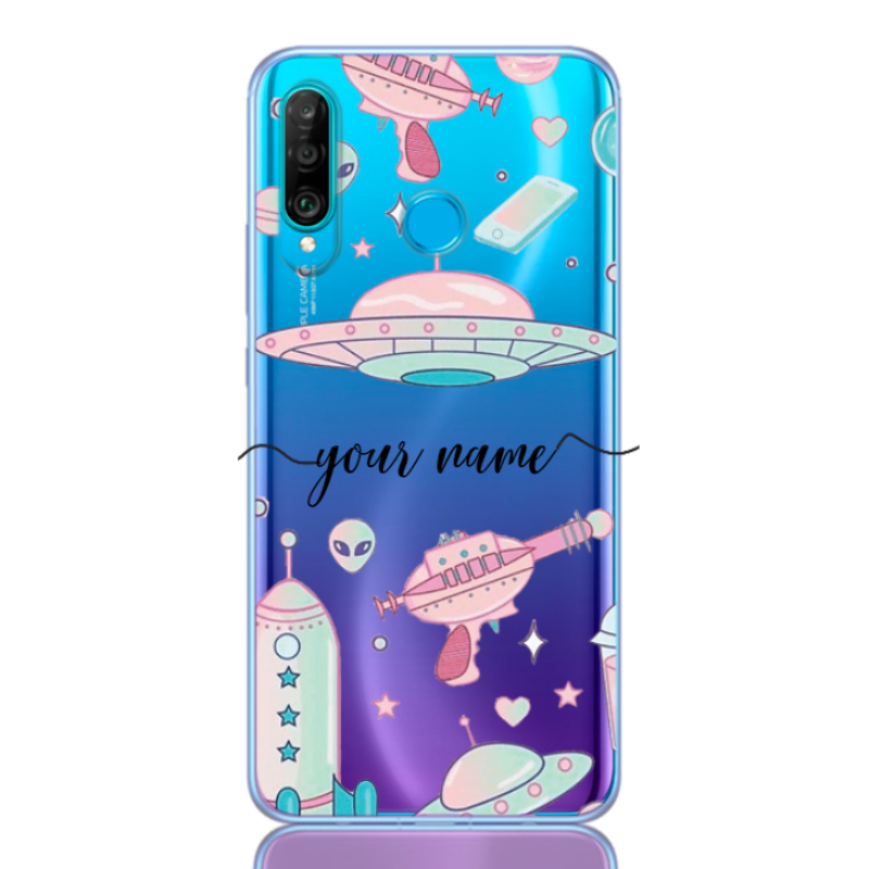Space Pattern Rose Name for huawei