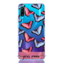 Butterfly Pastel Rose Name Low