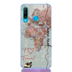 Travel World Colored Line for huawei