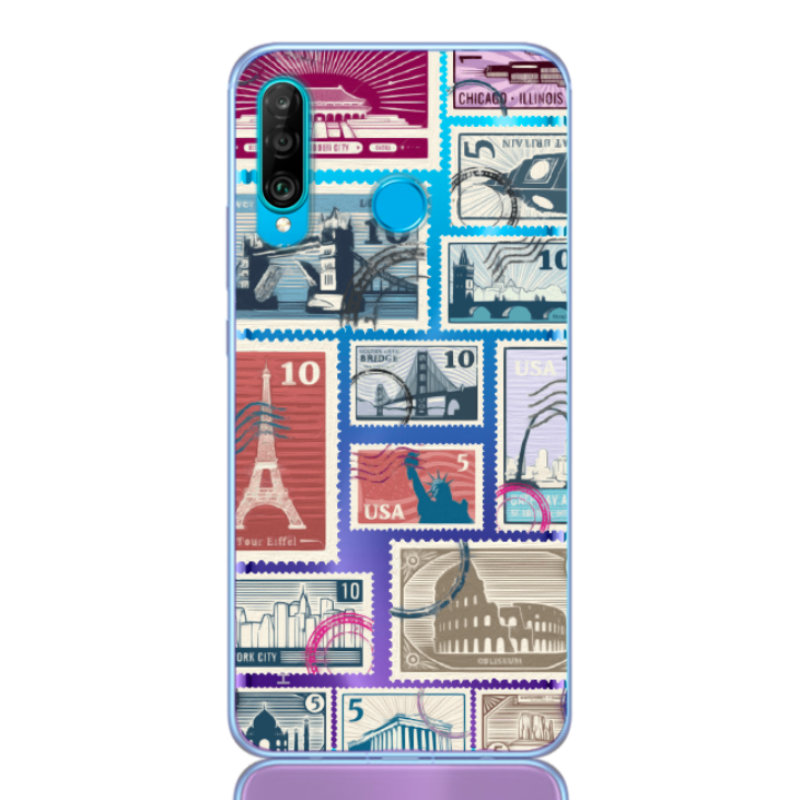 stamp travel for huawei