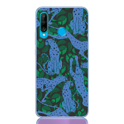 leopard blue for huawei