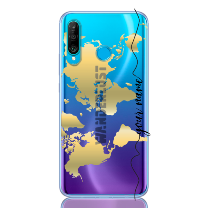 wanderlust gold line for huawei