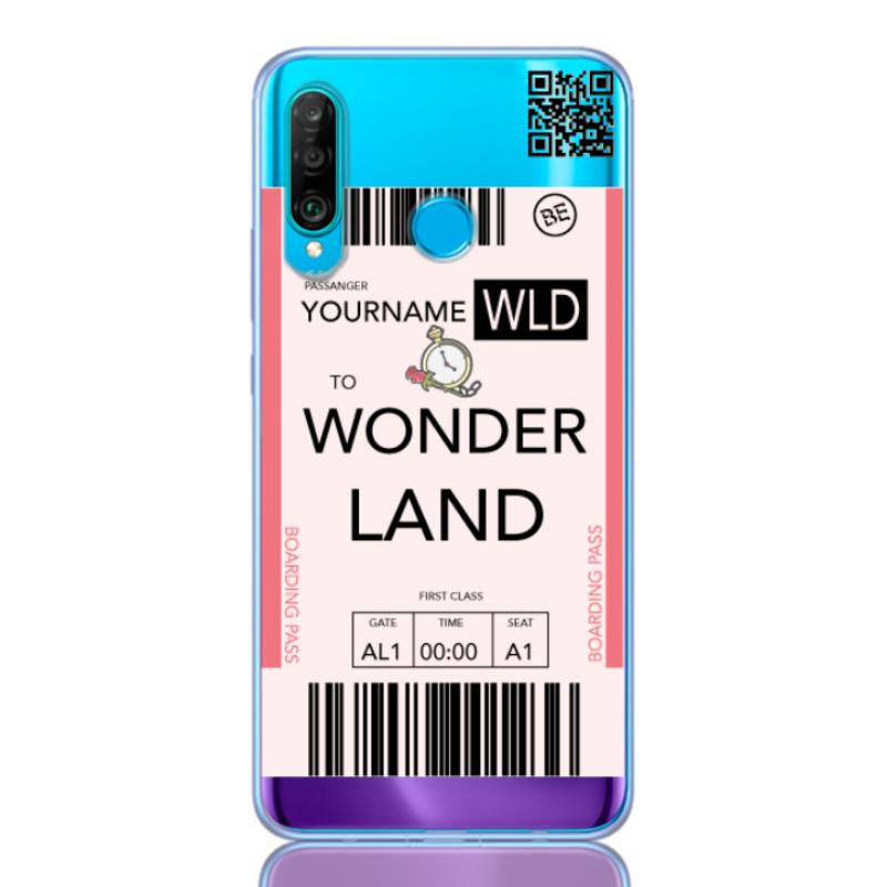 ticket wonderland for huawei