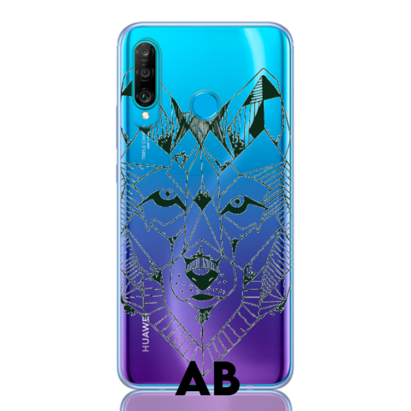 wolf green letter low for huawei