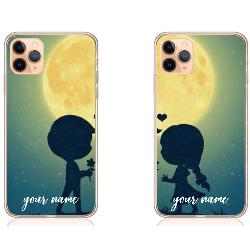Under moon couple