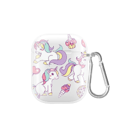 cover airpods unicorn pattern