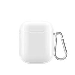 cover antishock per airpods clear