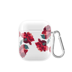 cover airpods rose rosse