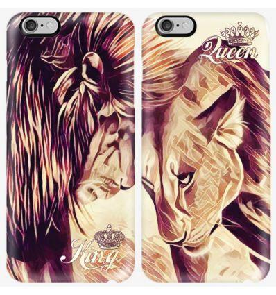 Couple case Lion color