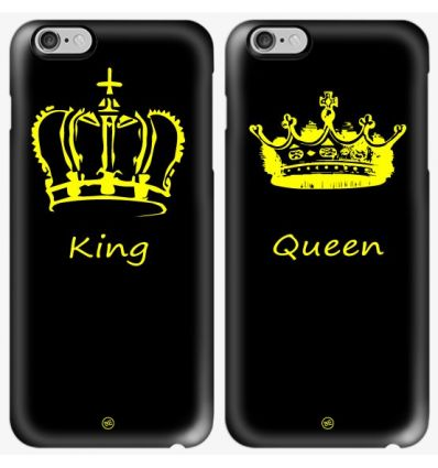 Cover coppia King Queen classica