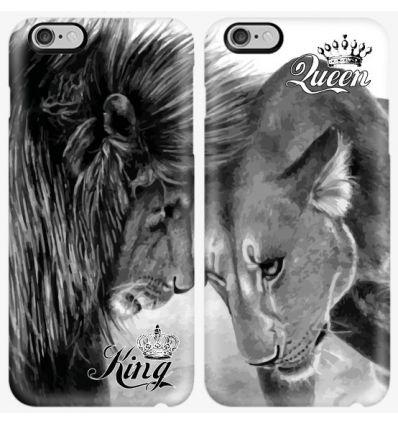 Couple case King Lion