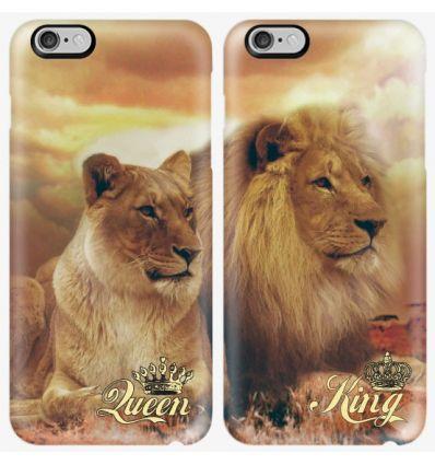 Couple case Lion