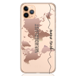 wanderlust rose gold line